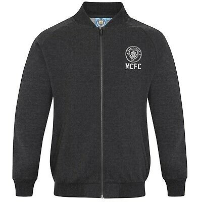 Manchester City FC officiel - Veste de baseball style université - rétro - homme