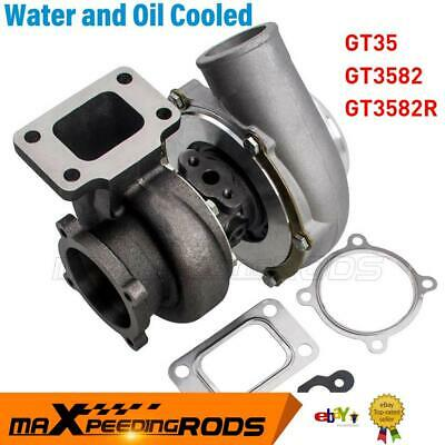 GT35R GT3582R Upgraded Dual Ball Bearing Turbo Turbine .63 Vband T3 Flange