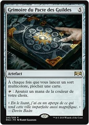 MTG Magic RNA French//VF Glass of the Guildpact//Vitrail du Pacte des Guildes