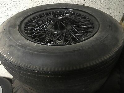 Aston Martin DB4 - DB4 MK3 DB2/4 4 wheels + 2 tyres 16 inches 72 spokes