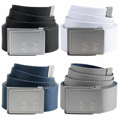 New - Under Armour 2018 Men's Reversible Webbing 2.0 Belt