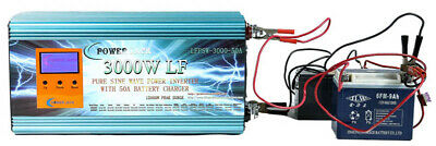 "12000W/3000W+3.5""LCD LF Split Phase PSW Power Inverter 24V DC/110V,220V AC 60Hz"