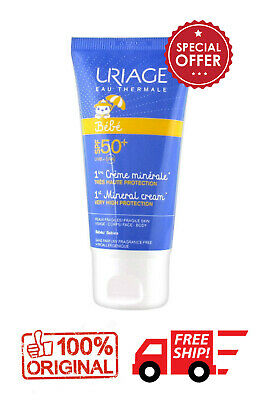 Uriage  Babe 1st Mineral Cream SPF50+ 50ml VERY HIGH PROTECTION