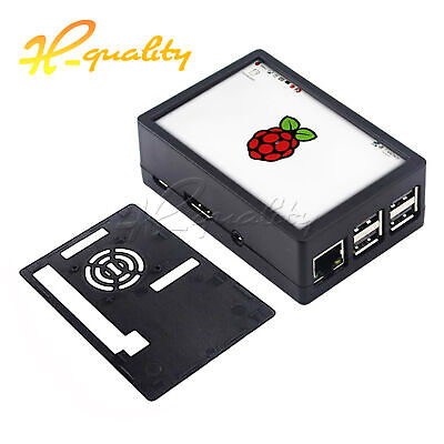 For Raspberry Pi 3 Model B Plus 3.5 inch TFT Press Screen LCD Display ABS Case