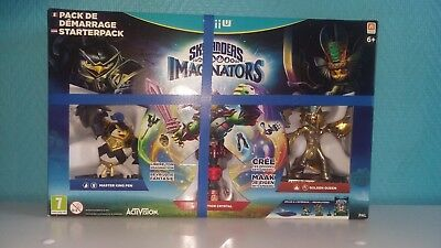 pack demarrage skylanders imaginators wii u  (neuf)