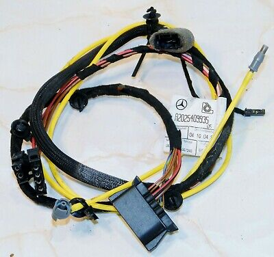 Fantastic Mercedes C Class W202 Rear Door Wiring Loom A2025409935 10 95 Wiring Cloud Hisonuggs Outletorg