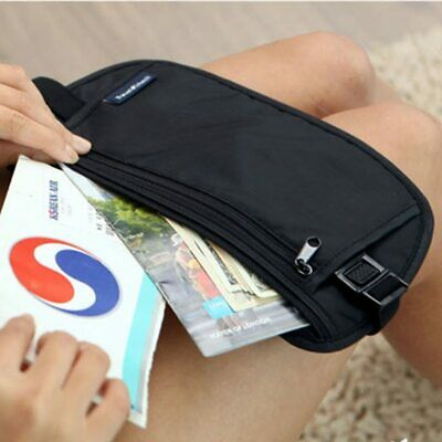 Cloth Travel Pouch Hidden Wallet Passport Waist Bag Secret Security Reisetasche