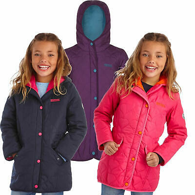 Regatta Tickitiboo Girls Quilted Jacket Lightweight