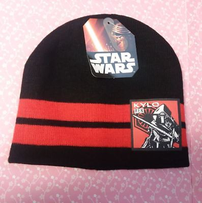 bfc6e955346e0 STAR WARS BOYS beanie Kylo Ren new with tags one size 4-8 years Knit ...