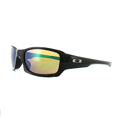 7273063fd04 Oakley Sunglasses Fives Squared OO9238-18 Black Prizm Shallow Water  Polarized