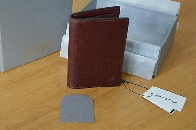 5fa1db7e12c4 MULBERRY oxblood Mens leather wallet credit card case holder from MR PORTER
