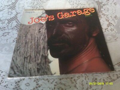 Frank Zappa. Joe Garage Act 1. Gatefold. Zappa Records. Srz 1-1603. 1979.