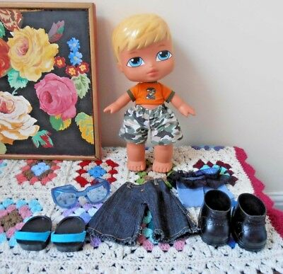 Big Baby Bratz Boyz Doll Cameron 12 Inch Doll Clothed With Extra Clothes