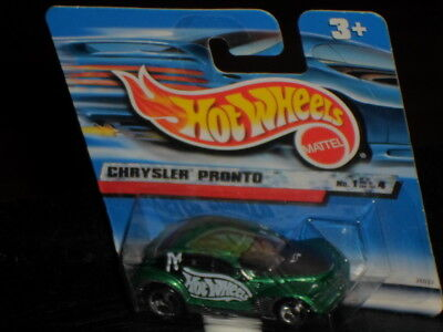 Spielzeugautos Chrysler Pronto gelb Hot Wheels 1998