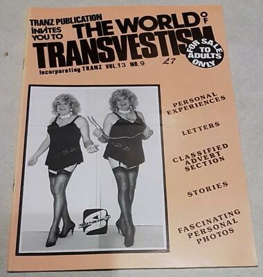The World Of Transvestism Magazine From Swish Publications Vol 13 No 9
