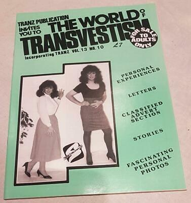 The World Of Transvestism Magazine From Swish Publications Vol 13 No 10