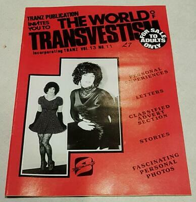 The World Of Transvestism Magazine From Swish Publications Vol 13 No 11