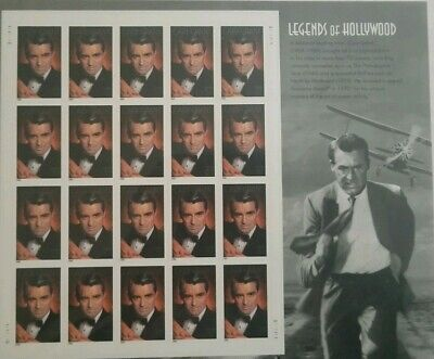 Cary Grant, Legends of Hollywood, USPS Stamps, MNH, Sealed