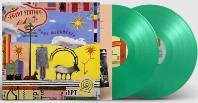 Paul McCartney Egypt Station 2LP Spotify Exclusive Green Vinyl *IN HAND MINT*