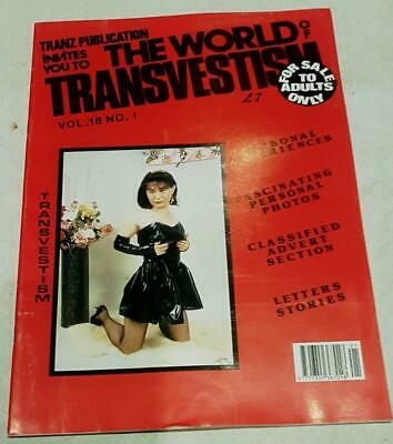 The World Of Transvestism Magazine From Swish Publications Vol 18 No 1