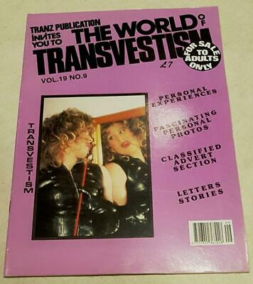 The World Of Transvestism Magazine From Swish Publications Vol 19 No 9