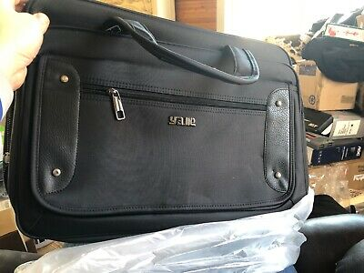 17 laptop briefcase Business Briefcase Expandable Wit Cross Body Strap. (K1)