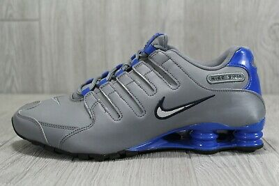 outlet store d3010 1c6eb 38 Rare New Nike Shox NZ Shoes Mens Cool Grey Silver Size 11 378341-004