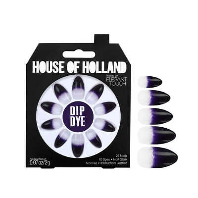 1 x Pack House Of Holland False Nails - Dip Dye (24 Nails) Elegant Touch