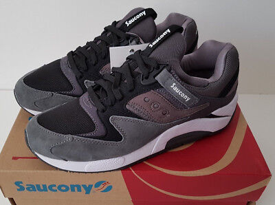 3e9d7d31bf49 Saucony x White Mountaineering Grid 9000 Charcoal UK 6.5 US 7.5 EUR40.5  S70165-