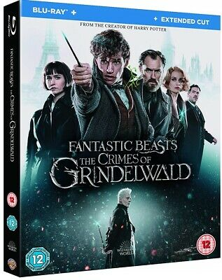 FANTASTIC BEASTS (2018) THE CRIMES OF GRINDELWALD: Harry Potter RgFre 2x BLU-RAY