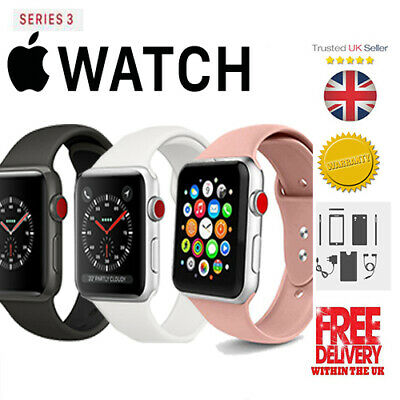 iWatch S3 Edition 3 38mm 42mm New Sport Bands Gift