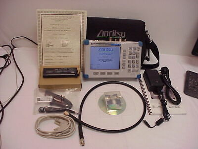 Anritsu MT8212B sitemaster basestation analyzer  loaded with options