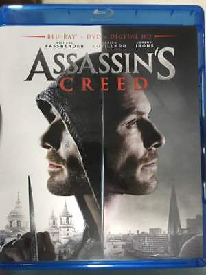 Assassin's Creed Blu-Ray No DVD/Digital/Slip Like New FAST FREE Combine Shipping