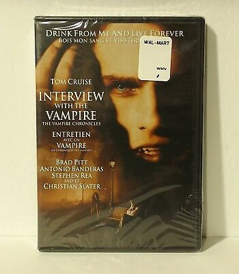 Interview with the Vampire (DVD, 2009, Canadian Bilingual NEW AUTHENTIC REGION 1