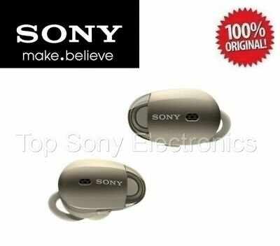 Sony WF1000X/BM1 Bluetooth Wireless In-Ear Earphones Noise-Canceling (Gold)