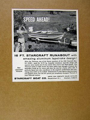 NEW BOAT COVER STARCRAFT VISCOUNT O//B 1961-1963