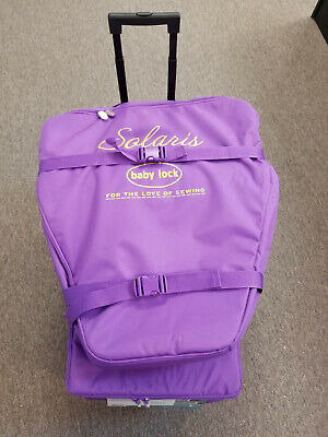 BABYLOCK SOLARIS SEWING Machine Trolley and Embroidery Case Set
