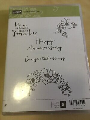Stampin Up Timeless Love Stamp Set