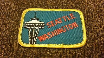 VTG SEATTLE WASHINGTON Souvenir Iron On Patch