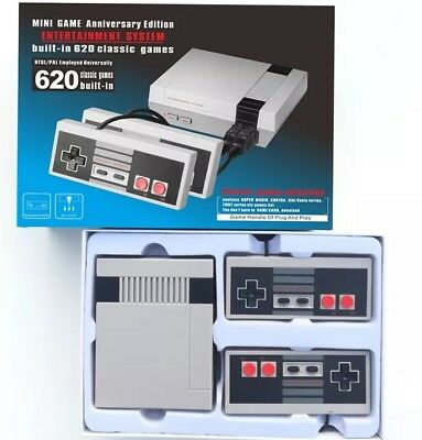 Mini TV Video Games Consoles Built-in 620 Classic Games For Nes PAL&NTSC