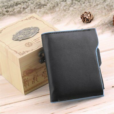 Classic Men's PU Leather ID credit Card holder Bifold Coin Purse Wallet MN