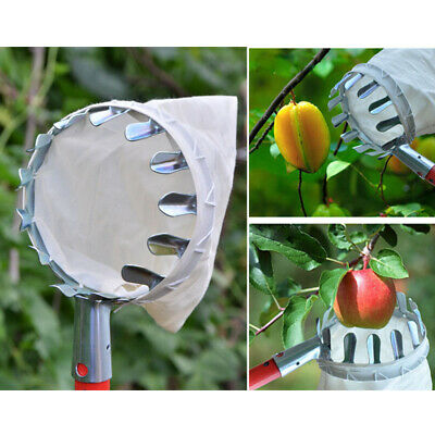 1pc Garden Tools Fruit Picker Head Metal Fruit Picking Tools Fruits Catcher XDUK
