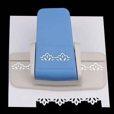 Border Punch S Flower Design Embossing Punch Scrapbooking Paper Cutter Fancy
