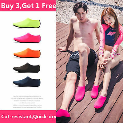 2019 Unisex Fast Dry Water Aqua Shoes Diving Socks Wetsuit Non-slip Swim Beach