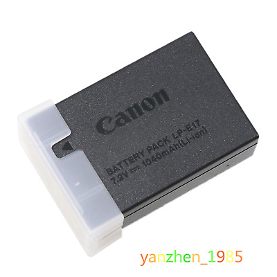 Original Canon LP-E17 Li-Ion Battery for camera EOS T6s/760D T6i/750D 1040mah