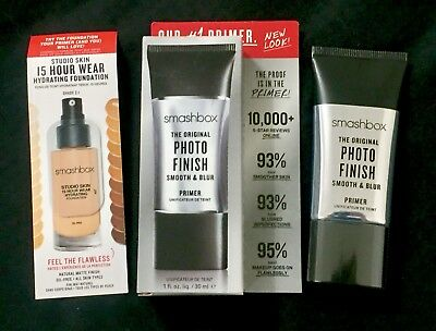 Smashbox $36+ Original Photo Finish Foundation Primer 1 Oz Boxed *ebay Lowest!