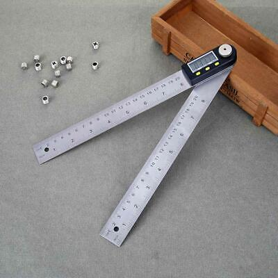 Stainless Digital Protractor Angle Inclinometer Ruler Measurement Tool 200mm
