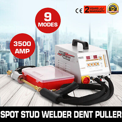 3500AMP Vehicle Panel Spot Puller Dent Spotter Stud Active Welder GYS 2700 110V