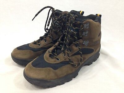 97741739c LL Bean Hiking Trail Boots Shoes Mens 11.5 M Brown Leather Lace Up High Top