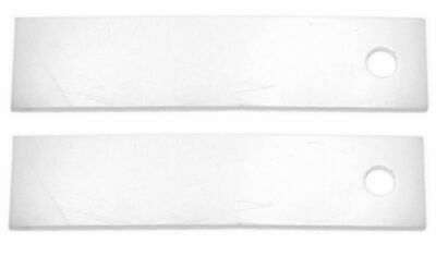 Clothes Dryer Drum Slide, General Electric, AP3206716, PS755842, WE1M504, 2 Pack